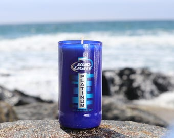 Bud Light Platinum Soy Wax Candle