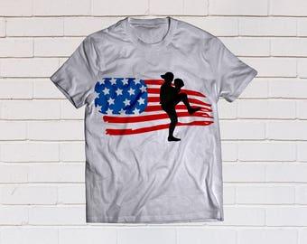 American flag svg, Merica svg, Baseball mom svg, Baseball svg, Kids svg, SVG Files, Cricut, Cameo, Cut file, Clipart, Svg, DXF, Png, Eps