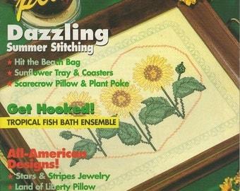 Cross Stitch Plus Magazine -- July 1994