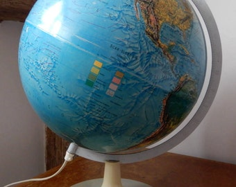 Scan-Globe 1973 Working Vintage Lamp with switch on Flex