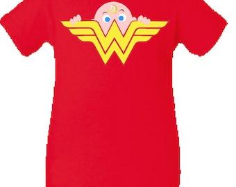 Wonder Woman Onesie Etsy