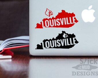 Louisville Custom & Permanent State Vinyl Decal