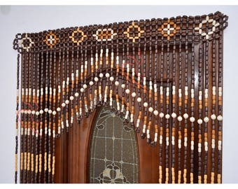 Beaded Door Curtain Decor For Living Room Wood Blinds Door Beads Curtains  Beaded Door Curtain Wood