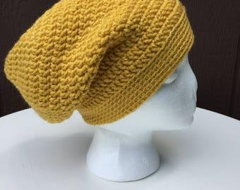 Crochet Slouchy Hat, Crochet Slouch Beanie, Slouchy Beanie Hat, Womens Slouchy Beanie, Slouchy Winter Hat, Oversized Hat, Womens Trendy Hats