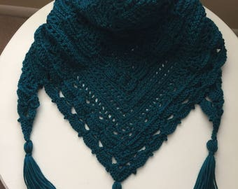 Crochet Wrap, Crochet Shrug Wrap, Crochet Shawl, Crochet Shawl Wrap, Shawl Scarf, Shrug for Evening, Shrug for Dresses, Crochet Wrap Wedding