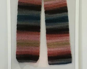 Dusk crochet scarf
