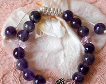 Amethyst baby bracelet,Children's bracelets