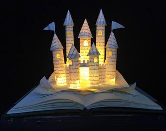 Cinderella's Castle Book Sculpture - Plug In