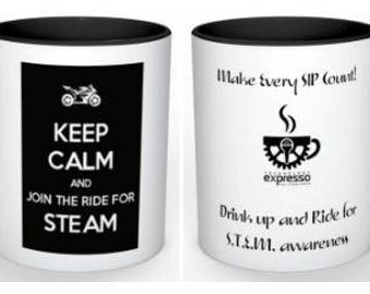 Sorority Greek STEM/STEAM Coffee Mug Every SIP can help you find your full steam ahead