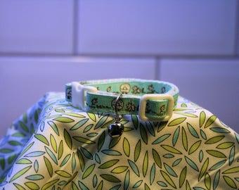 """Handmade Cat Collar - """"Baa Baa"""""""
