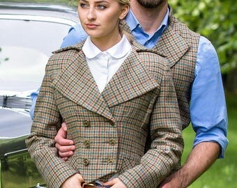 Lady Mary Jacket (Aberfeldy Tweed)