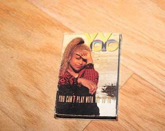 YO-YO 1991 Cassette Tape Rap Hip Hop You Can't Play With My Yoyo 1990s MCA Single Rap New Jack Ice Soul Cube 90s Music