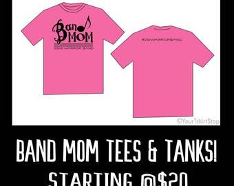 PRE-ORDER ***OG Band Mom Shirts*** Bella+Canvas or Comfort Color