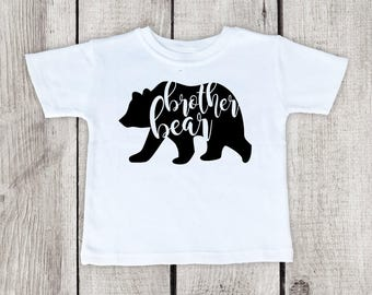 Brother bear shirt brother shirt big brother shirt brother shirt with a bear bear brother shirt publicscrutiny Image collections
