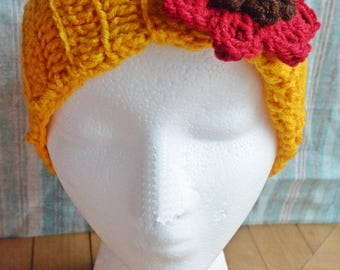 Autumn Ear Warmer - Ear Warmer - Autumn - Winter - headband