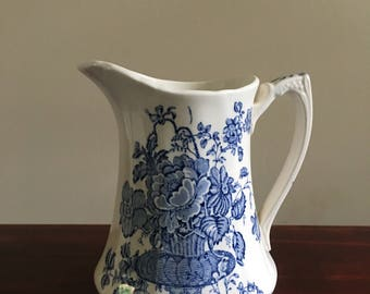 Vintage Charlotte Alfred Meakin Pitcher Staffordshire England