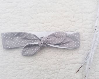 Headband tie size 1 3/12 months