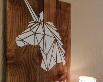D coration de la licorne etsy for Decoration murale licorne