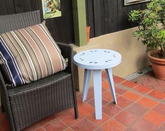 Galvanised Steel Flamingo Bistro Table