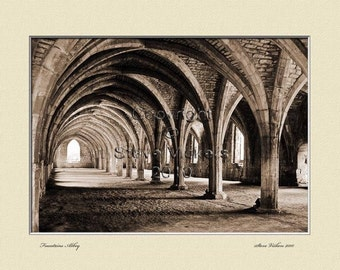 Photographic Art. Archways. Black + White Mounted or framed Picture