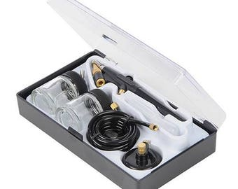 Airbrush Hobby Kit 6pceSimple, single-action trigger airbrush for general purpose hobby and model work.