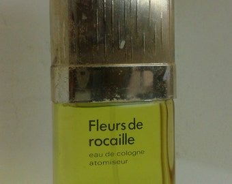 Caron Fleurs de Rocaille eau de cologne 115 ml  spray atomiseur vintage no box