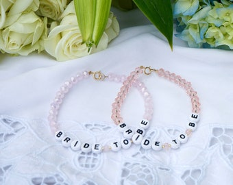 Bride To Be Crystal Bracelet