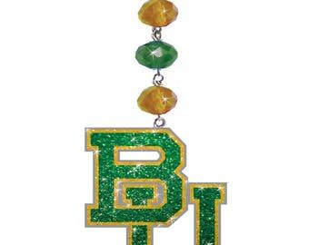 Baylor University *Bling* Magnetic Ornament,Baylor Decor, Baylor Bears Decor, Baylor Ornament, Baylor Football, Sic Em Bears, Bu
