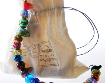 Multibeads necklace