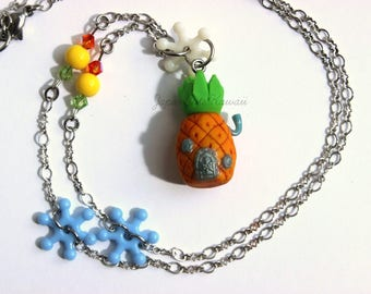 Spongebob Pineapple House Necklace
