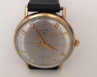 Vintage Elgin automatic watch