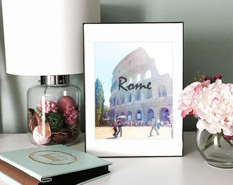 Printable Digital Art -- Rome Colosseum