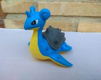 Lapras Pokemon PLA printer 3d FrikiprintES print figure by hand