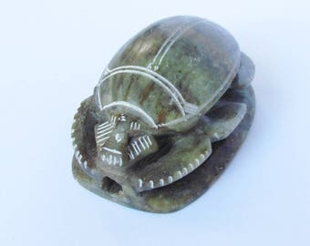 Vintage Egyptian Scarab Paperweight