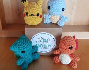 POKEMON Amigurumi Crochet Kawaii Crochet