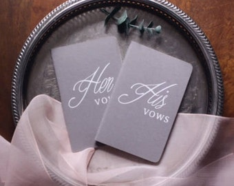 Vow Book, Wedding Book, Bride and Groom Gift, Wedding Gift, Vow Books