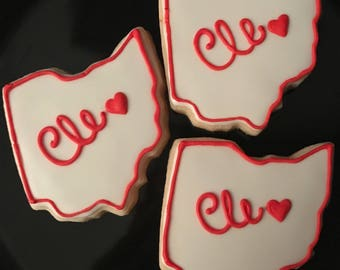 Cleveland (Ohio) Sugar Cookies (1 dozen)