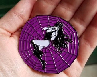Horror Collectable Large Enamel Pin Elvira Mistress of the Dark on the web