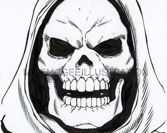 Skeletor Original Artwork