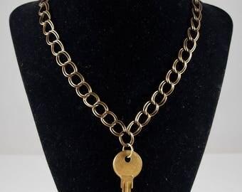 Antique Key Choker Necklace