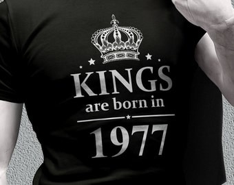40th Birthday Ideas shirts - 40th Birthday gifts - born in 1977 awesome tee shirts for men - birthday gifts - birthday shirts - 1977 shirts
