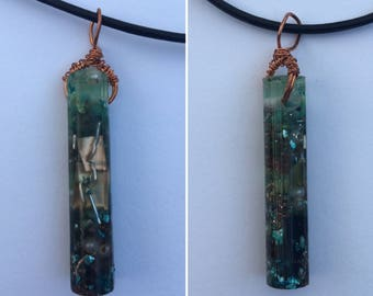 Beachcomber Resin Pendant