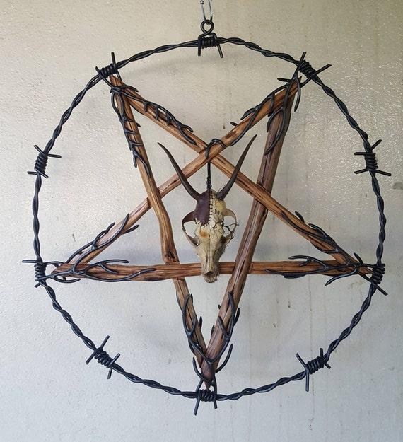 Stacheldraht Pentagramm