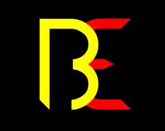 2 letter monogram svg