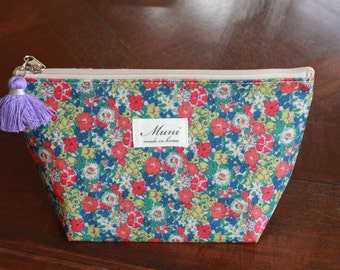 Floral Beauty Bag