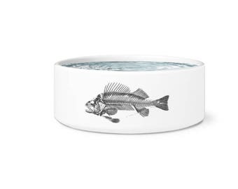Fish Skeleton Pet Bowl