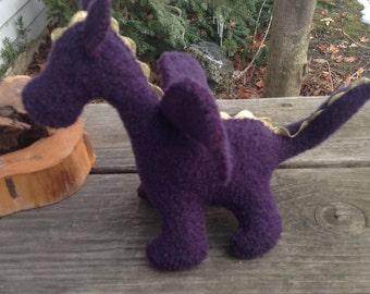 Plum Purple Dragon Baby