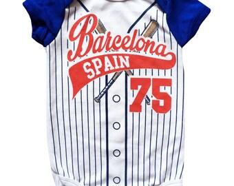 Barcelona Spain 75 Bodysuit