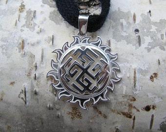 Svarozhich Pendant. Slavic jewelry. Slavic talisman. Pagan jewerly. Slavic amulet. Ancient jewerly