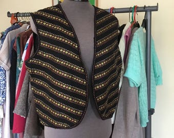 Indian cotton waistcoat / festival boho hippie pretty